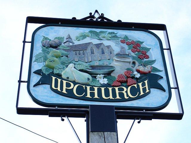 Upchurch village sign
