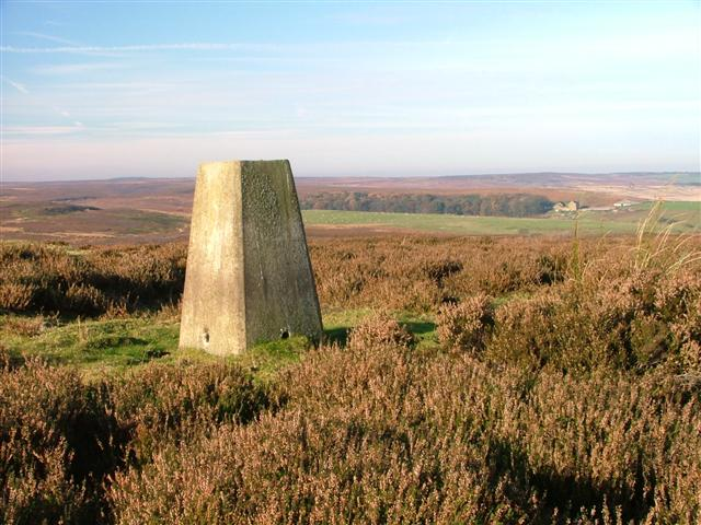 Trig Point, Siss Cross Hill