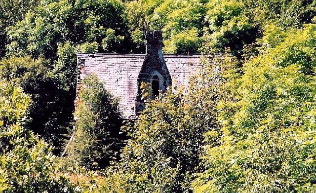 Old school at Pont Llogel