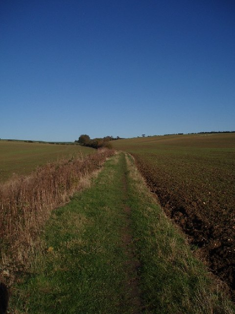 Bridleway towards Twinwood farm