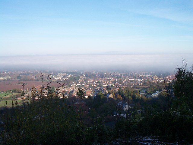 North Malvern in the Mist