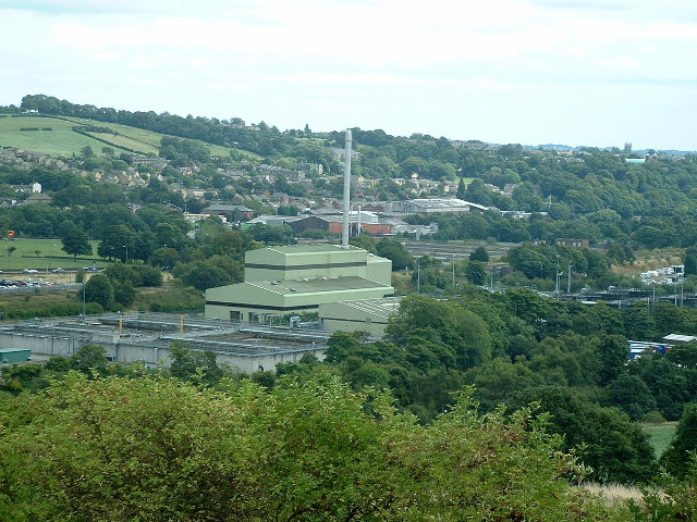 Mirfield Sewage Incinerator