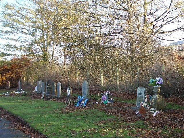 Cemetery near Abernethy