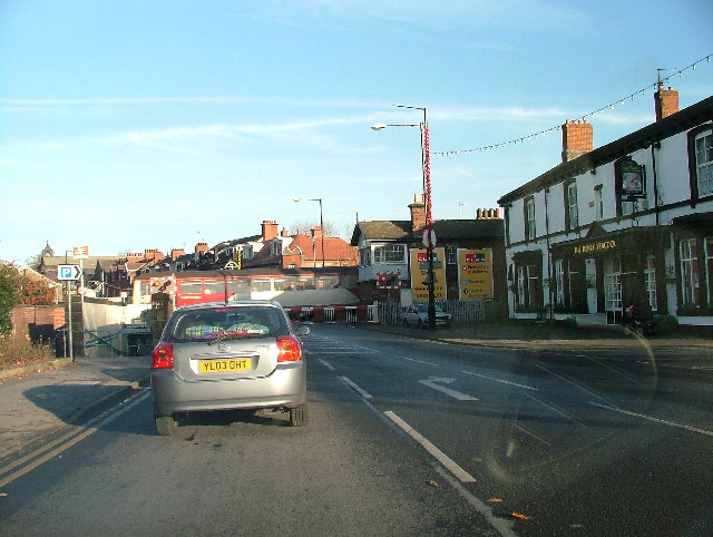 Starbeck level crossing