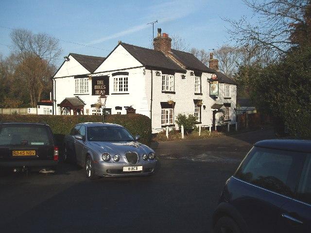 The Bulls Head , Mill Lane Mobberley