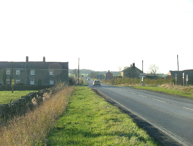 Crossroads on A59 - turning for Rowden to the right.