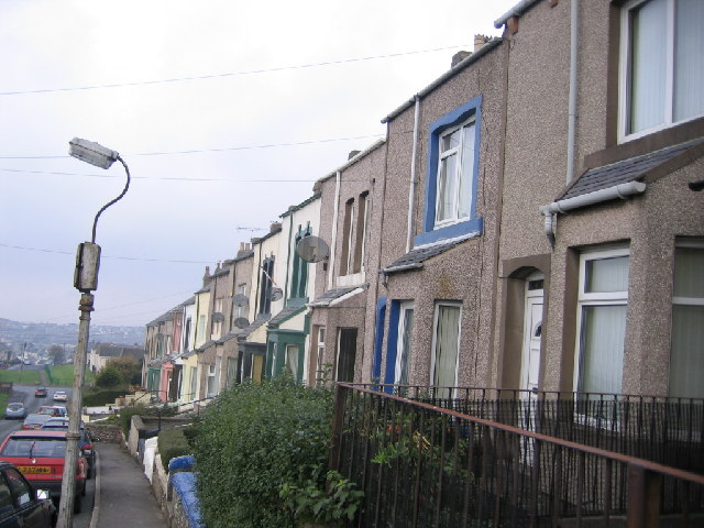 Terrace houses at Ellenborough