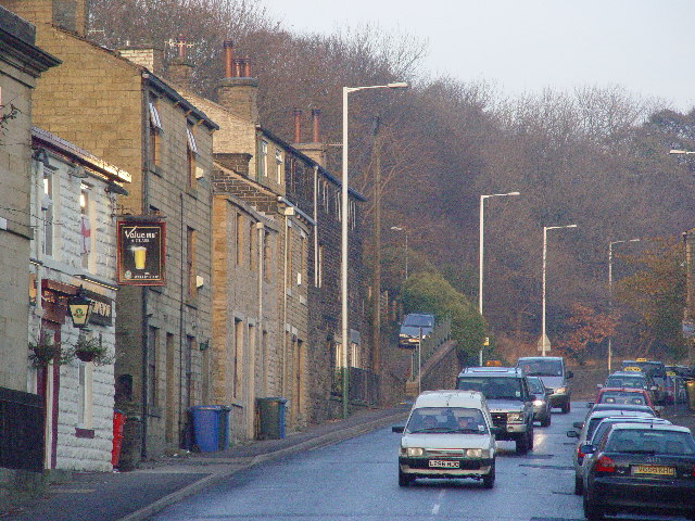 Road to Todmorden in Bacup
