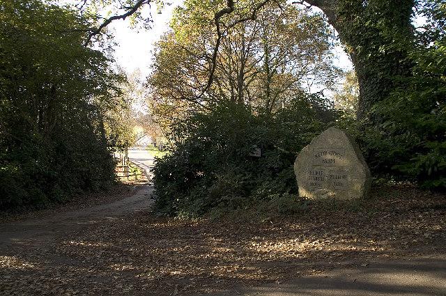 Farm entrance near Lytchett Matravers, Dorset
