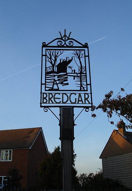 Bredgar village sign