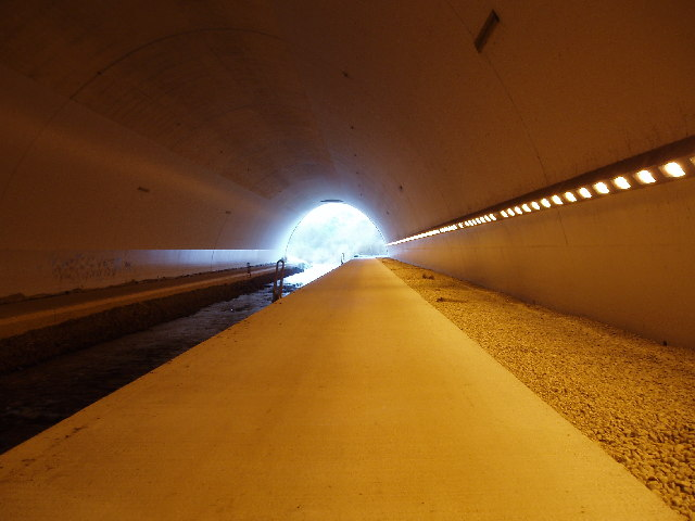 River Bollin Tunnel under Runway 2 ,Manchester Airport