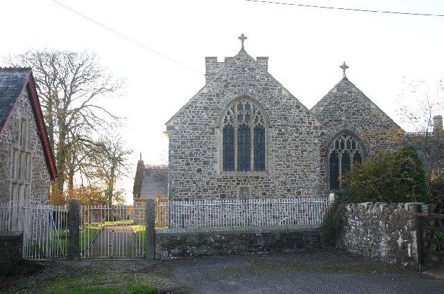 Rose Ash church