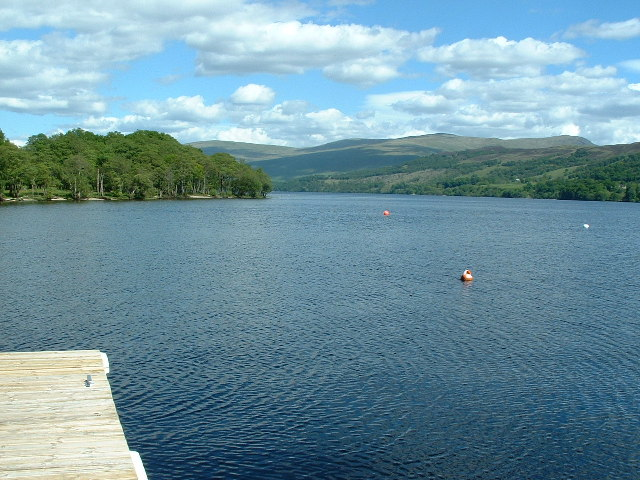 Loch Tay from the jetty at Milton Morenish