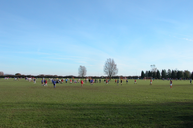 Sunday morning Football, Farlington Playing Fields