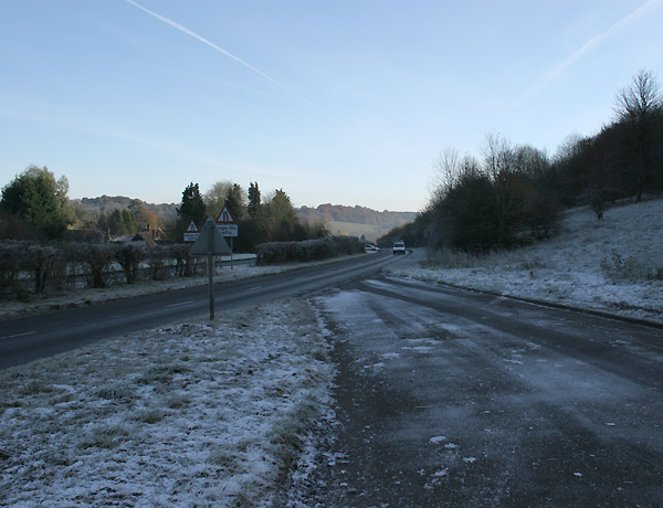 A4130 Henley to Wallingford road