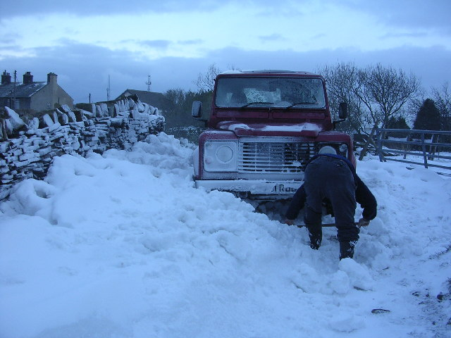 Digging out!