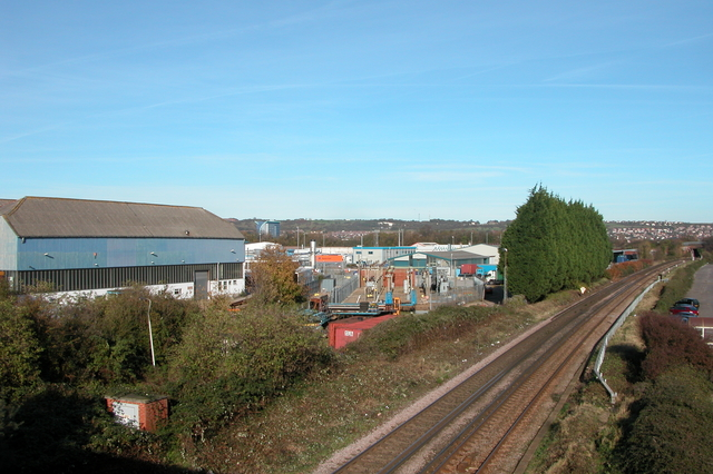 Industrial area of Hilsea