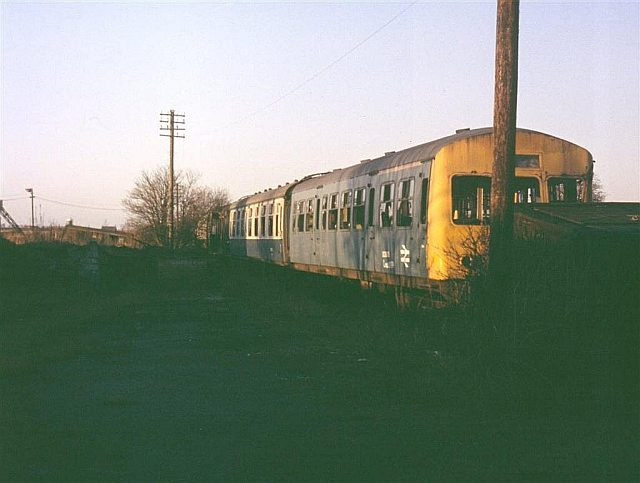 Scrap Railway Carriages, Fighting Cocks
