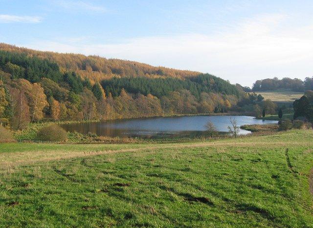 Balthayock Loch.