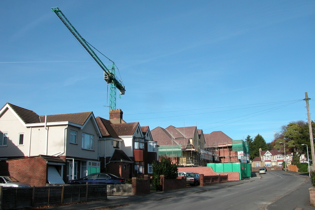 More Houses going up in Court Lane, Cosham.