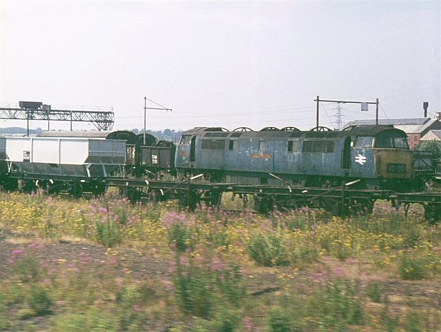 Scrap Loco and Wagons, Swindon Railway Works