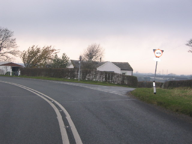A594 to Dearham junction.