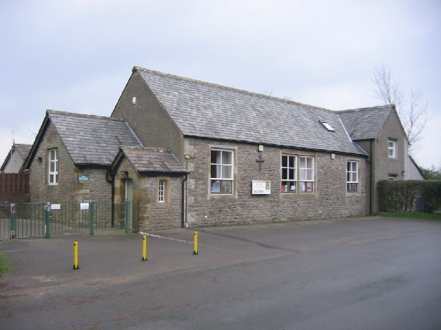 The front of Bridekirk Dovenby School.