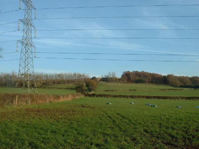 Farmland near Ellel Quarry