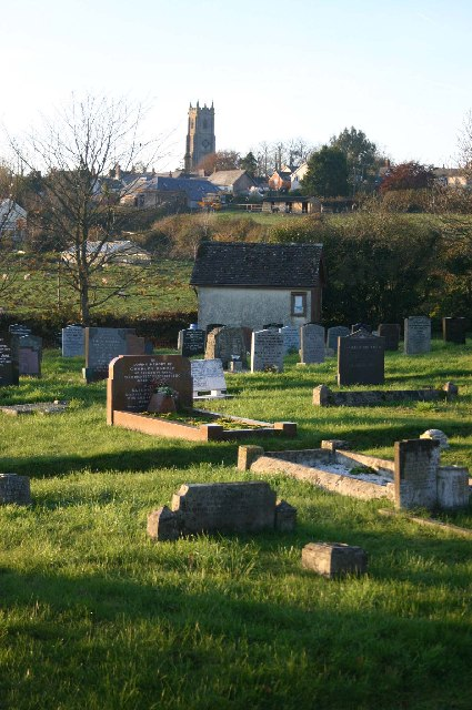 Cemetery on outskirts of Bishops Nympton