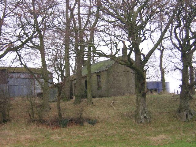Derelict  Farm Building at Mid Borland