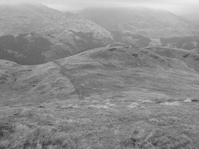 North ridge of Ben Reoch.
