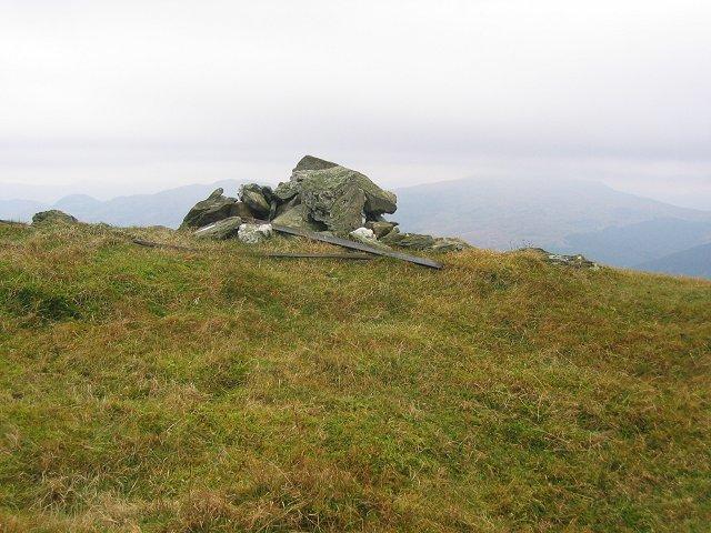 Summit cairn, Ben Reoch.