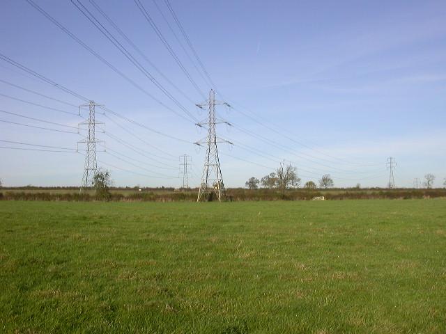 Electricity Pylon Divergence