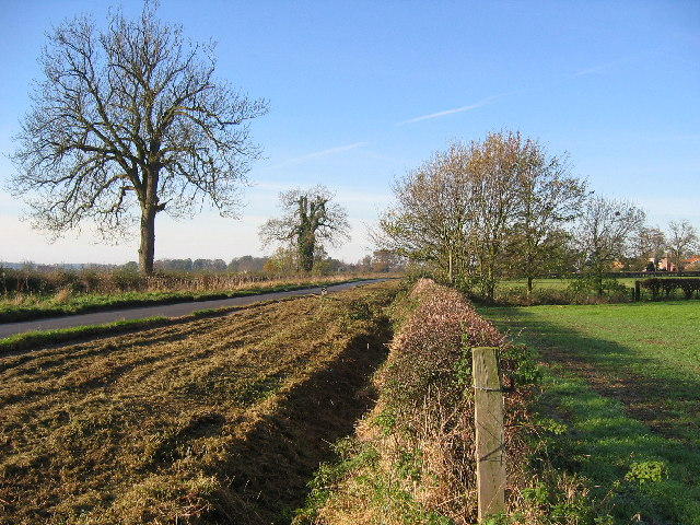 Farmland NW of Scorborough