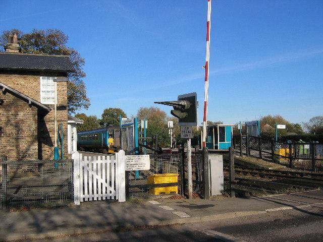 Hutton Cranswick Station