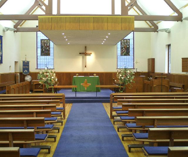 Interior, St. Mary's Church.