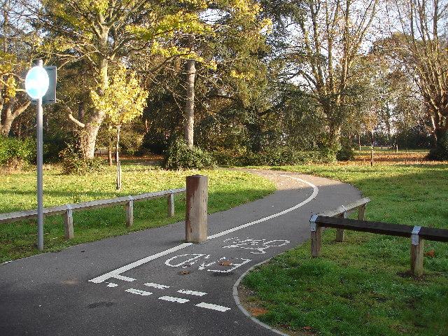 Public Footpath in Clarendon Park