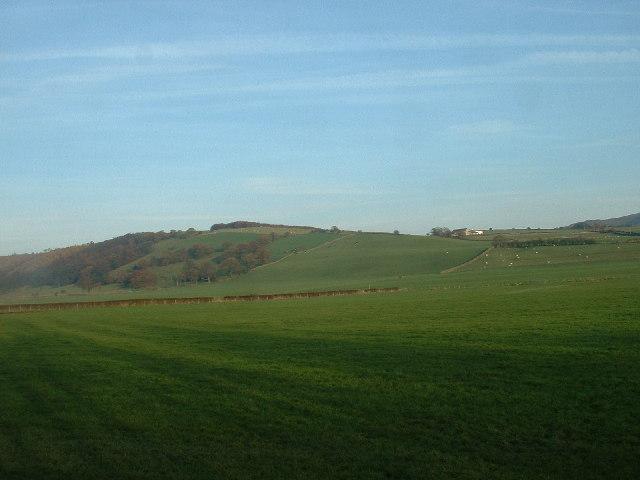 Farmland near Quernmore