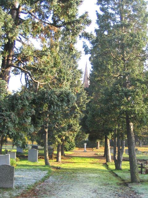 Graveyard, Great Warley, Essex