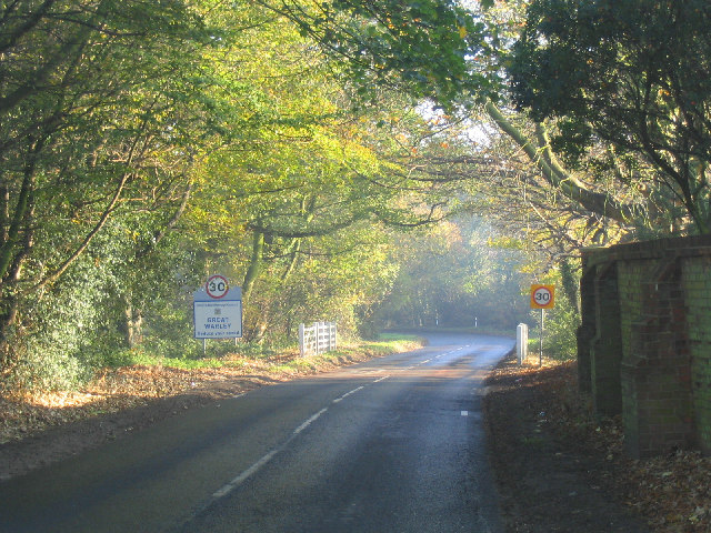 Village entrance, Great Warley, Essex
