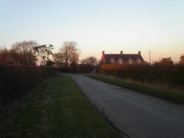 Farm north of Kingston Lisle
