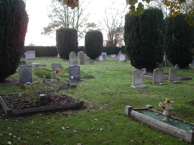 The cemetery, Kingston Lisle
