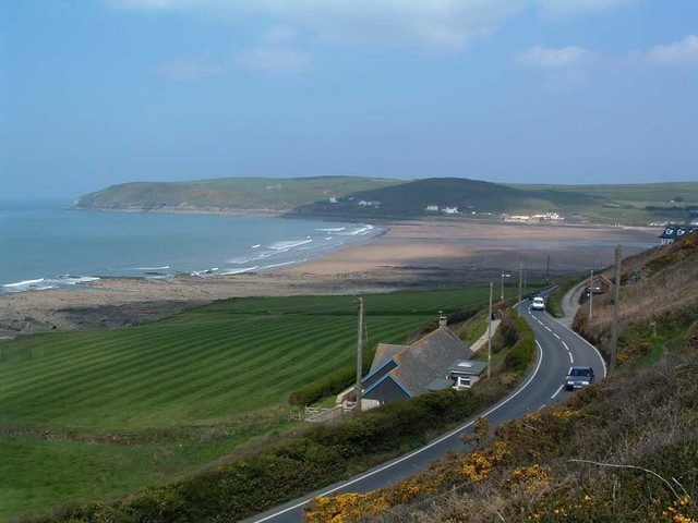View of Croyde Bay from Downend