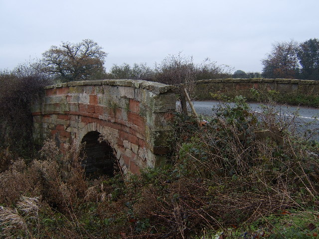 Bridge over Soulton Brook