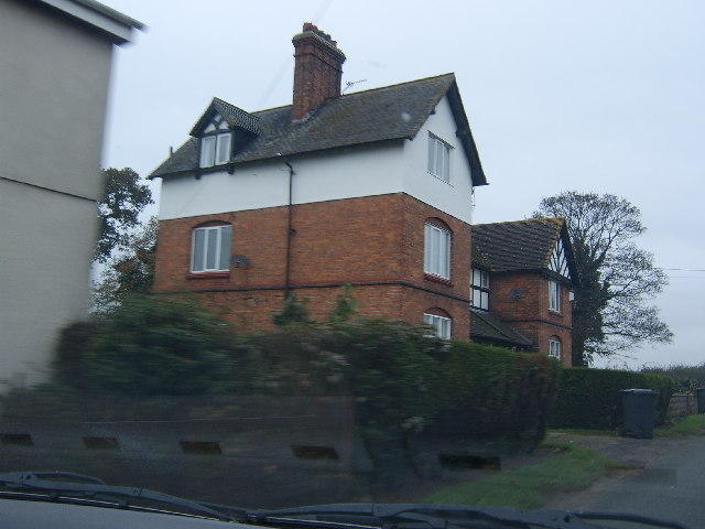 A House on the B5065 near Prees Green