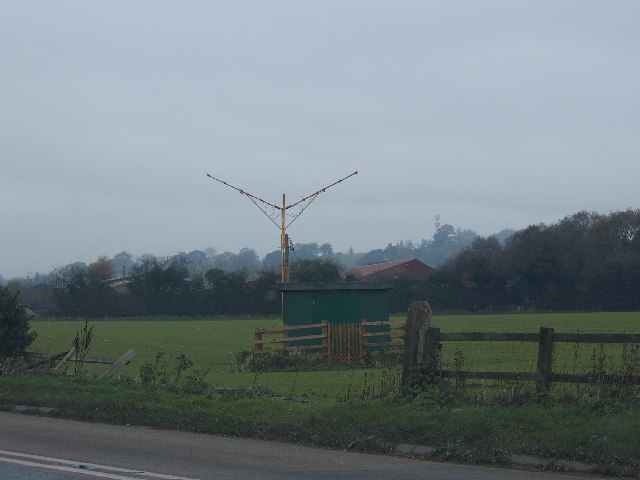 Aerials nr the B5065/A49 Junction
