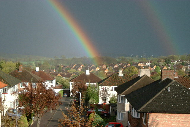 Double Rainbow over Potters Bar