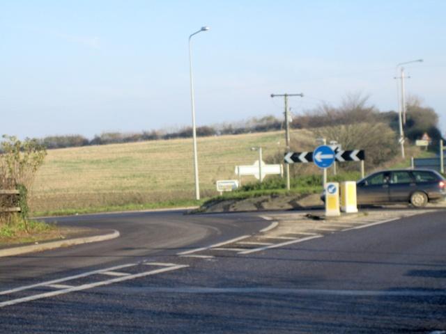 Cold Ashton Roundabout