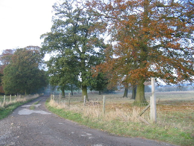 Footpath to Houghton Hall
