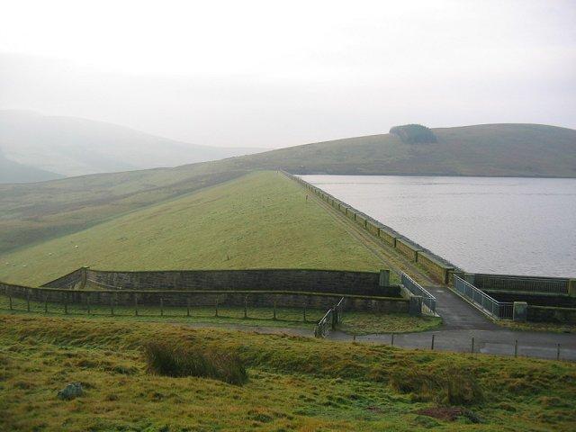 West Water dam.
